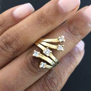 Jewelry - 14k gold 1/2 carat diamond ring!